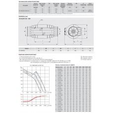 Канальный вентилятор Soler Palau TD-1000/200 Silent 3V