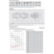 Канальный вентилятор Soler Palau TD-500/150-160 Silent 3V