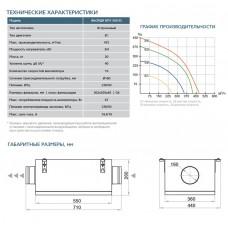 Приточная установка ФЬОРДИ ВПУ-500 ЕС-3-220-1-GTC