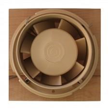 Высокотемпературный накладной вентилятор для саун ММ 100-S Квадрат (дерево)